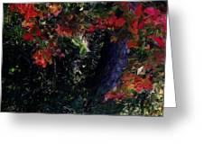 Wonder Tree Detail 2 Greeting Card