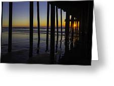 Wonderful Pismo Sunset Greeting Card