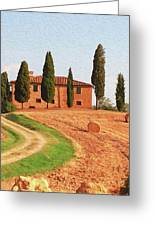 Wonderful Tuscany, Italy - 02 Greeting Card