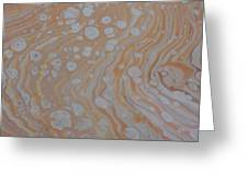 Wood Cells Greeting Card