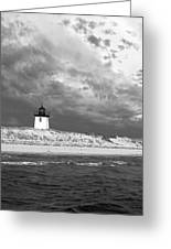Wood End Lighthouse Provincetown Greeting Card
