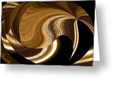 Wood Grains Greeting Card