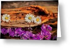 Wood - Id 16235-142749-1958 Greeting Card