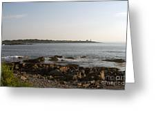 Wood Island Lighthouse 1 Greeting Card