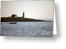Wood Island Lighthouse 3 Greeting Card