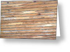 Wood Lines Greeting Card