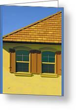 Woodbury Windows No 2 Greeting Card