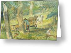 Woodcutters Greeting Card