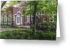 Wooded Manor Greeting Card