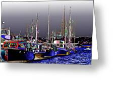 Wooden Boats 2 Greeting Card
