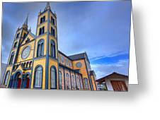 Wooden Cathedral  Greeting Card