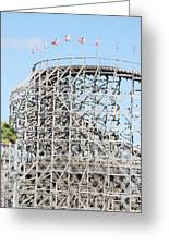 Wooden Coaster Greeting Card
