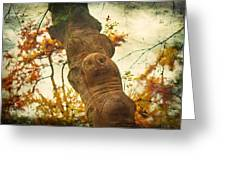 Wooden Creatures Greeting Card
