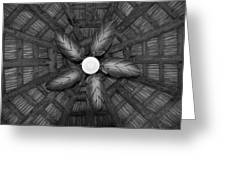 Wooden Fan Greeting Card