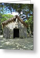 Wooden Mission Of Nombre De Dios Greeting Card