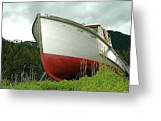 Wooden Ship Greeting Card