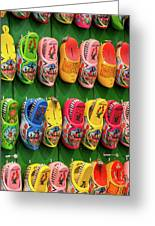 Wooden Shoes From Amsterdam Greeting Card