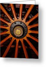 Wooden Spokes Greeting Card