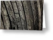 Wooden Water Wheel Greeting Card