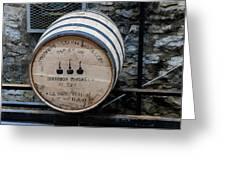 Woodford Reserve Barrel Greeting Card