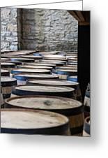 Woodford Reserve Barrels Greeting Card
