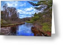 Woodhull Creek Greeting Card