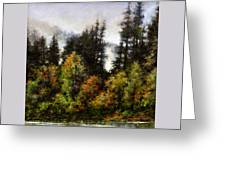 Woodland Bottoms In April Greeting Card