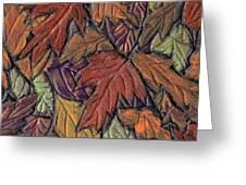 Woodland Carpet Greeting Card