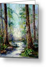Woodland Creek 1.0 Greeting Card