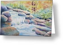 Woodland Falls Greeting Card