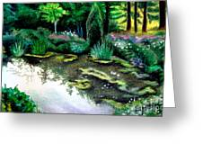 Woodland Mystery Greeting Card