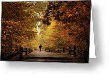 Woodland Promenade Greeting Card