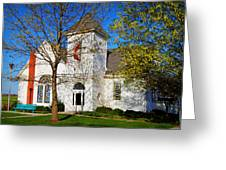 Woodlandville Methodist Church Greeting Card