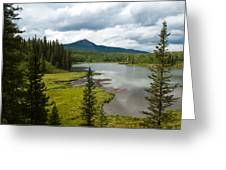 Wood's Lake Summer Landscape Greeting Card