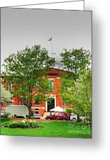 Woodstock Courthouse Greeting Card