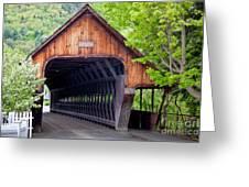 Woodstock Middle Bridge Greeting Card