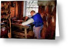 Woodworker - The Master Carpenter Greeting Card