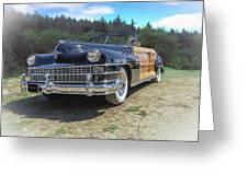 Woody  Chrysler Greeting Card