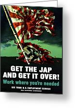 Work Where You're Needed -- Ww2 Greeting Card