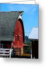 Working Barn Greeting Card