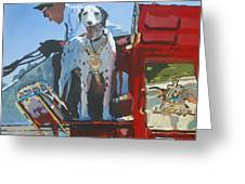 Working Dog Greeting Card