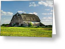 Working This Old Barn Greeting Card