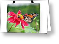 Working Together Tote Bag Greeting Card