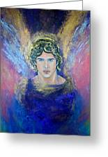 Working With Archangels Greeting Card