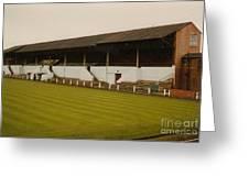 Workington - Borough Park - Main Stand 2 - 1970s Greeting Card