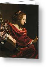Workshop Of Simon Vouet Greeting Card
