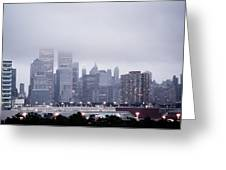 World Trade Center Photograph Last Shot Greeting Card