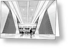 World Trade Center Transportation Hub, Lower Manhattan New York Greeting Card