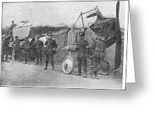 World War I: Aviators, 1914 Greeting Card