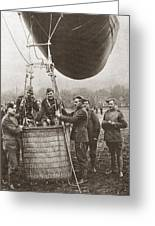 World War I: Balloon Greeting Card